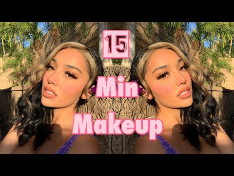 My Go-To 15 Min Makeup Tutorial♡