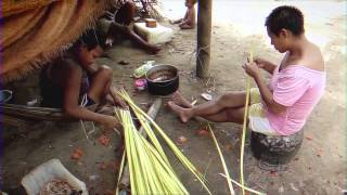 At least 1000 indigenous people traveled to Puerto Narino, a village on the Amazon River, to participate in the Colombian...