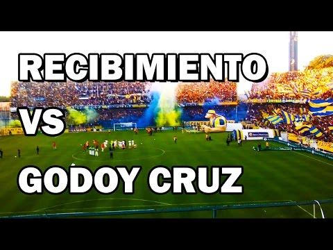 RECIBIMIENTO Rosario Central vs Godoy Cruz 2017 - Fecha 15 - Los Guerreros - Rosario Central