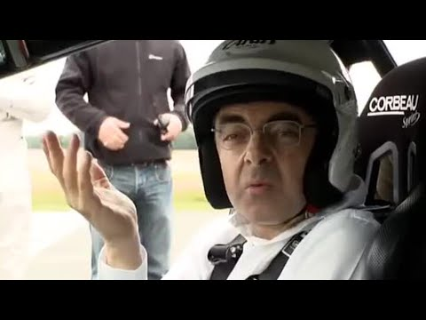 Rowan Atkinson (Mr Bean) na pista de corrida – Top Gear