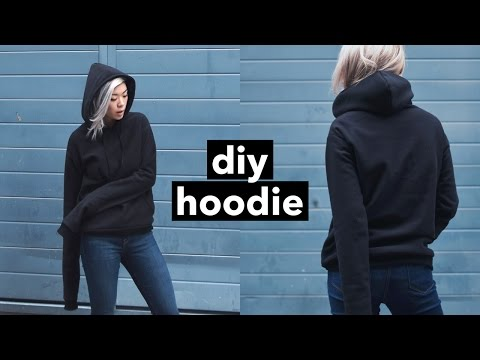 Video DIY Hoodie from Scratch! | WITHWENDY download in MP3, 3GP, MP4, WEBM, AVI, FLV January 2017