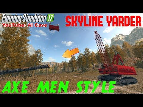 FDR Logging - Skyline Yarder