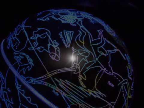 """Видео Интерактивный умный глобус """"Галактика"""" Звездное небо SG18-11"""