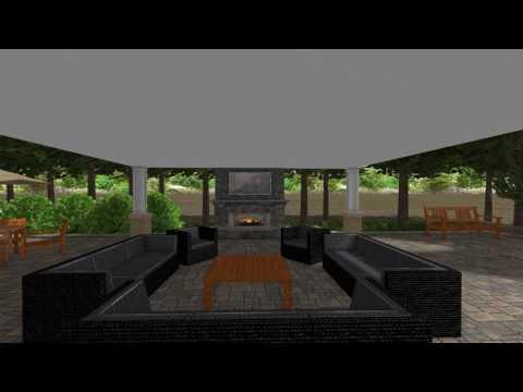 Outdoor Lounge & Amenities