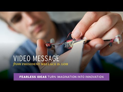 President Loh: Turn Imagination into Innovation