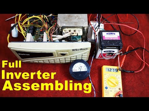 Full Inverter Assembling | How to Assemble a Inverter in Hindi