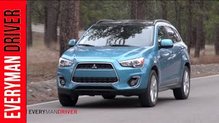 2013 Mitsubishi Outlander Sport SE 4WD DETAILED Review On Everyman Driver
