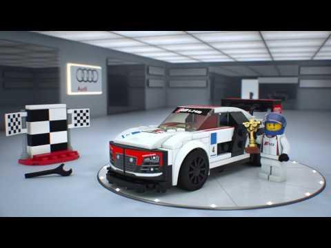 Конструктор Audi R8 LMS ultra - LEGO SPEED CHAMPIONS - фото № 6