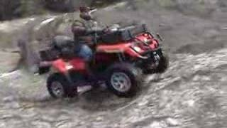 2. Riding my new Can-Am on hard snow and in water
