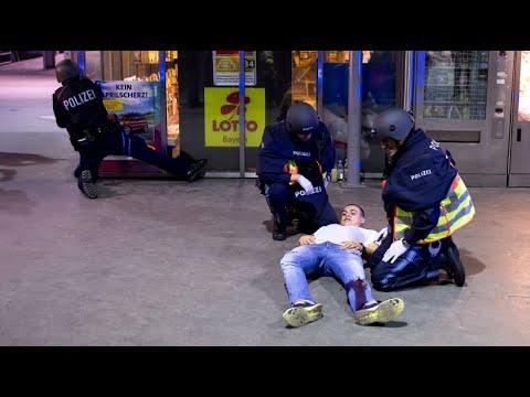 1.500 Polizisten im Einsatz: Terrorübung in München