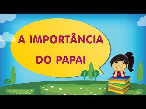 A IMPORTÂNCIA DO PAPAI | Histórias com a Tia Érika