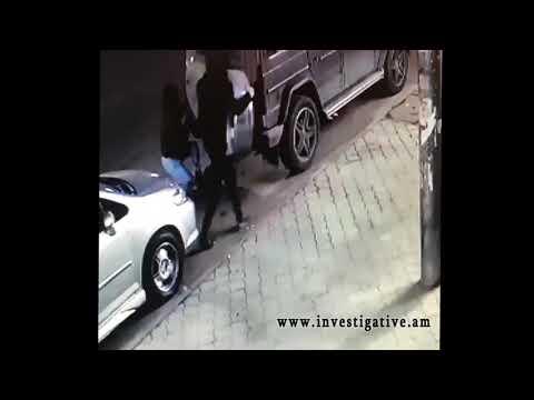 Գողություն՝ «Մերսեդես Բենց  G500» մակնիշի ավտոմեքենայից (տեսանյութ)