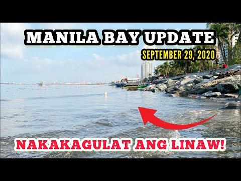 SEPT 29: HINDI TO FAKE NEWS! TUBIG SA MANILA BAY LUMINAW NA!