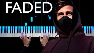 Alan Walker - Faded | Piano cover | Sheets