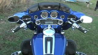 3. 2009 Harley Davidson Electra Glide Ultra Classic blue 120911.avi