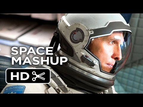 Movie mashup of  Interstellar  with tons of other films about space