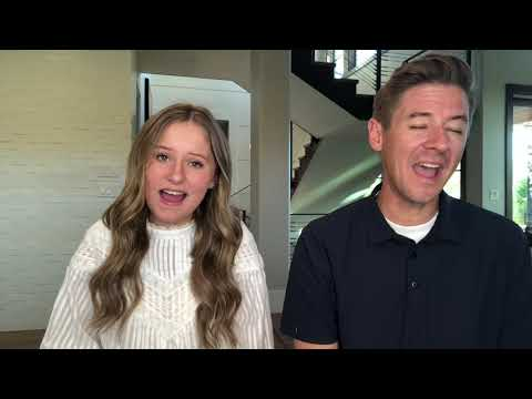 Daddy Daughter Duet - You Are the Reason - Mat and Savanna Shaw