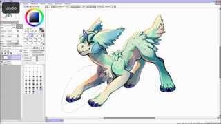 My deviantART: http://kawiku.deviantart.com/Video is silent, please listen to your own music :)Real Time: 55 mins ( speed x13 )Software used: PaintTool SAI