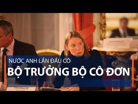 Nước Anh lần đầu có Bộ trưởng Bộ cô đơn | VTC1 - Thời lượng: 55 giây.