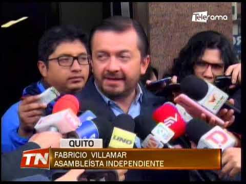 Asambleísta Villamar plantea revisar suspensión de la pena de Yofre Poma