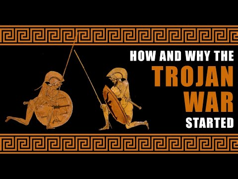 How and why the Trojan war started
