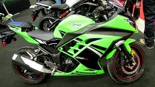 6. 2014 Kawasaki Ninja 300 ABS SE Walkaround - 2014 Montreal Motorcycle Show