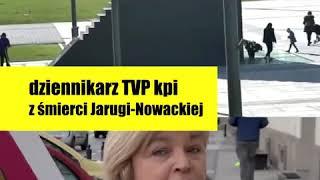 SKANDAL! Pracownik TVP kpi ze śmierci I.Jarugi-Nowackiej