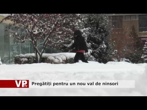 Pregătiți pentru un nou val de ninsori