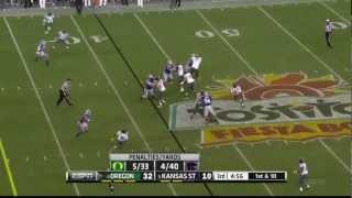 Arthur Brown vs Oregon (2012 Bowl)