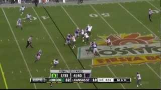 Arthur Brown vs Oregon (2012 Bowl)