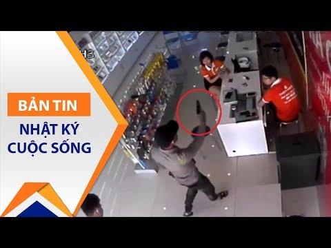 Bắt nghi phạm dùng súng cướp Thế giới di động | VTC1 - Thời lượng: 61 giây.