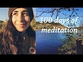 100 days of meditation - 10 days update | holisticmaya