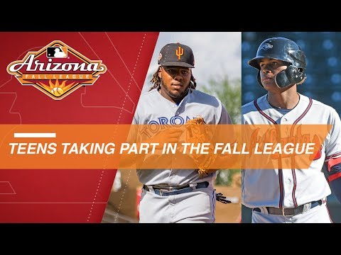Video: Many teenagers to take part in Arizona Fall League