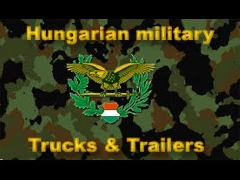 MH Military Trucks and Trailers v1.0