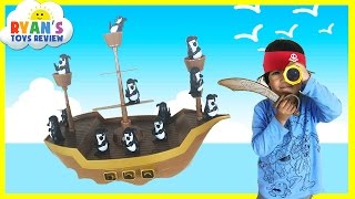 Family Fun Game for Kids Don't Rock The Boat with Jake and The Never Land Pirates