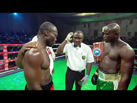 Afonja Warrior Vs Aryee - GOtv Boxing Night Edition 13