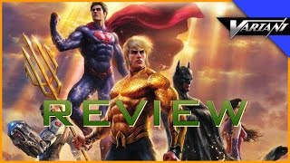 Nonton Justice League  Throne Of Atlantis   Batman Vs Robin Review  Film Subtitle Indonesia Streaming Movie Download