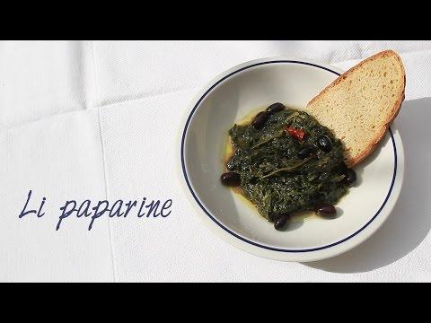 ricetta gustosa con foglie di papavero selvatico