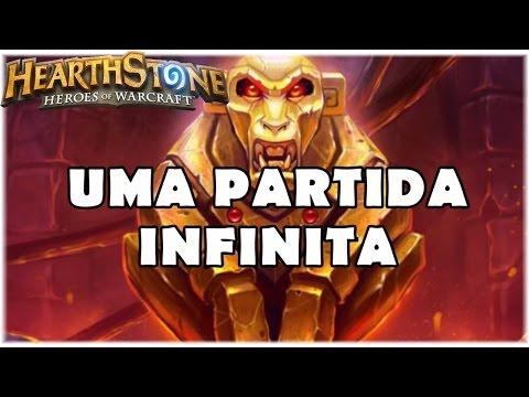 HEARTHSTONE - UMA PARTIDA INFINITA! (PADRÃO C'THUN RENOLOCK) (видео)