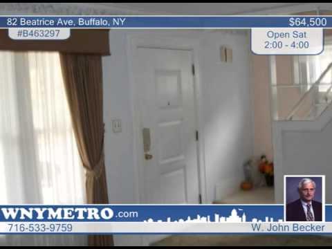 82 Beatrice Ave  Buffalo, NY Homes for Sale | wnymetro.com
