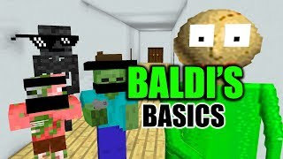 Video Monster School : BALDI'S BASIC CHALLENGE - Minecraft Animation MP3, 3GP, MP4, WEBM, AVI, FLV Juli 2018