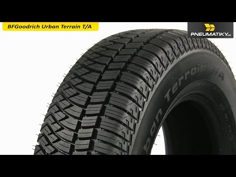 Youtube BFGoodrich Urban Terrain T/A 255/55 R18 109 V XL Univerzální