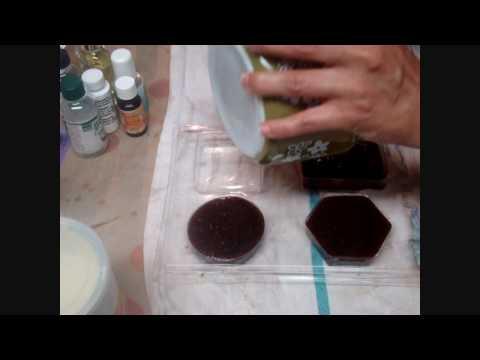 0 Como hacer jabón de chocolate