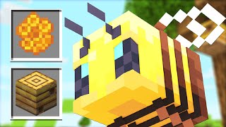 Video How to use New BEE Mobs Update! (Minecraft 1.15 Snapshot) MP3, 3GP, MP4, WEBM, AVI, FLV Agustus 2019