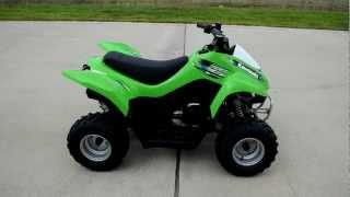4. For Sale! $1999.00 2013 Kawasaki KFX50 Kids ATV!