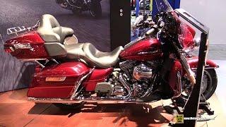 10. 2016 Harley Davidson Electra Glide Ultra Classic - Walkaround - 2015 EICMA Milan