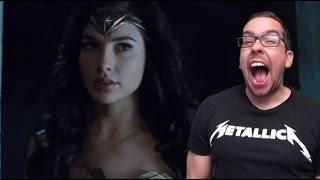Video Final Wonder Woman Trailer Reaction MP3, 3GP, MP4, WEBM, AVI, FLV Mei 2017