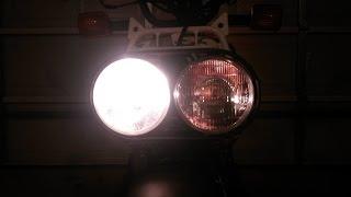 10. Honda Ruckus - How to install a new headlight bulb