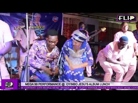 MEGA 99 PERFORMS @ OYINBO JESU'S ALBUM LAUNCH