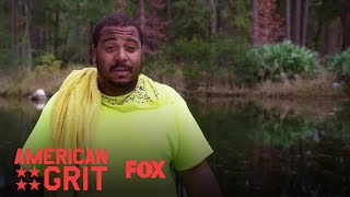 """Richard may be leaving Camp Grit but he's leaving a changed man with his sense of humor intact.Subscribe now for more American Grit clips: http://fox.tv/SubscribeFOXSee more of American Grit on our official site: http://fox.tv/AmericanGritLike American Grit on Facebook: http://fox.tv/AmericanGritFBFollow American Grit on Twitter: http://fox.tv/AmericanGritTWFollow American Grit on Instagram: http://fox.tv/AmericanGritIGLike FOX on Facebook: http://fox.tv/FOXTV_FBFollow FOX on Twitter: http://fox.tv/FOXTV_TwitterAdd FOX on Google+: http://fox.tv/FOXPlusAMERICAN GRIT is a new 10-episode competition series starring WWE Superstar John Cena. Sixteen of the country's toughest men and women will be split into four teams as they work together to face a variety of military-grade and survival-themed challenges. Cena and an elite group of mentors from the nation's most exclusive military units will push these civilians beyond their limits. The mentors, known as """"The Cadre,"""" include Rorke Denver, Noah Galloway, Tawanda """"Tee"""" Hanible and Nick """"The Reaper"""" Irving. These real-life heroes, who represent diverse backgrounds and top branches of the U.S. Armed Forces, will impart their first-hand knowledge and experience to help the competitors work together as teams to surmount near impossible mental and physical challenges.AMERICAN GRIT embodies the military ethos """"no man left behind,"""" because only the first team to complete the challenges together is safe from elimination. Each episode will culminate in """"The Circus,"""" a punishing, endurance-based obstacle course designed to break the weakest competitors. With up to a million dollars of prize money at stake, this is the ultimate test of strength, grit, the human spirit and most importantly, teamwork.The Ring Out: Richard  Season 2 Ep. 7  AMERICAN GRIThttp://www.youtube.com/FoxBroadcasting"""